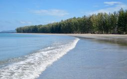Praia em Ko Lanta Fotografia de Stock Royalty Free