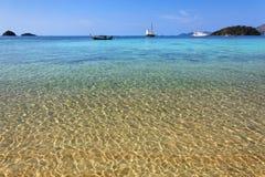 Praia em Ko Lanta, Tailândia Fotografia de Stock