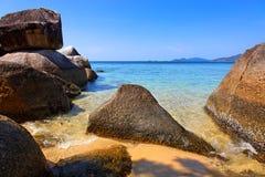 Praia em Ko Lanta, Tailândia Fotos de Stock Royalty Free