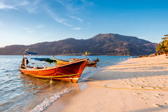 Praia em Ko Lipe Fotografia de Stock Royalty Free