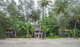 Praia em Koh Chang, Tailândia Fotos de Stock Royalty Free
