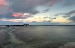 Praia em Las Croabas, Porto Rico Imagem de Stock