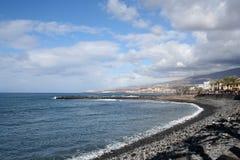 Praia em Los Christianos Imagem de Stock Royalty Free