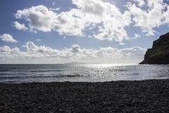 Praia em Madeira Fotografia de Stock