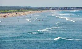 Praia em Maine Foto de Stock Royalty Free