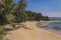 Praia em Matara, Sri Lanka foto de stock royalty free