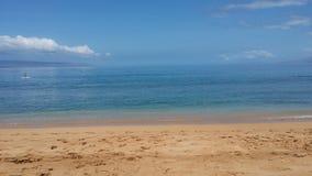 Praia em Maui imagem de stock