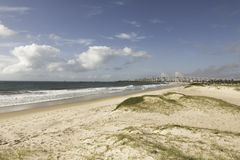 Praia em natal, RN da nova de Redinha, Brasil foto de stock royalty free