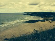 Praia em Newquay Cornualha imagens de stock