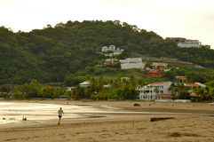 Praia em Nicarágua Fotografia de Stock Royalty Free