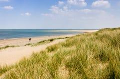 Praia em Norfolk Reino Unido foto de stock royalty free