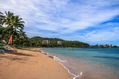 Praia em Nova Caledônia imagens de stock