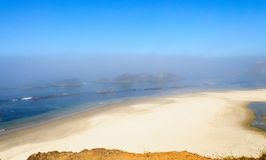 Praia em oregon Fotografia de Stock Royalty Free