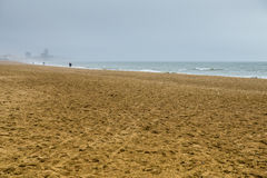 Praia em Ostende, Bélgica imagens de stock royalty free