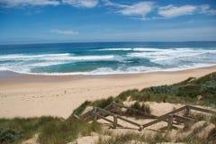 Praia em Philip Island Fotos de Stock Royalty Free
