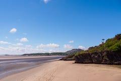 Praia em Portmeirion Imagens de Stock Royalty Free