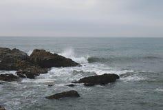Praia em Porto, Portugal Foto de Stock