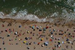 Praia em Portugal Fotografia de Stock