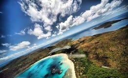 Praia em Puerto Rico Fotos de Stock Royalty Free