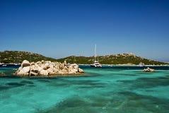 Praia em Sardenga Foto de Stock Royalty Free