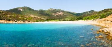Praia em Sardinia Imagens de Stock