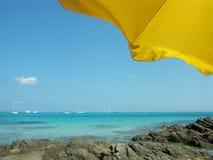 Praia em Sardinia Fotografia de Stock Royalty Free