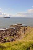 Praia em Scotland Fotos de Stock