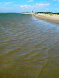 Praia em South Carolina América Fotos de Stock