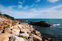 Praia em Tailândia foto de stock