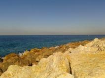 Praia em Tel Aviv fotos de stock royalty free