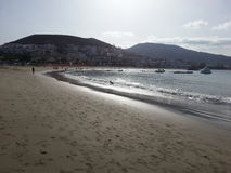 Praia em Tenerife Fotos de Stock Royalty Free