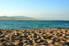 Praia em um Egipto Imagem de Stock Royalty Free