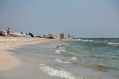 Praia em Vadu Imagens de Stock Royalty Free