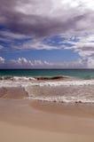 Praia em vieques Imagem de Stock
