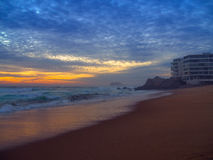 Praia em Vina del Mar Fotografia de Stock Royalty Free