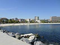 Praia em Yesilkoy, Istambul Imagem de Stock