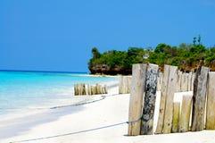 Praia em Zanzibar imagem de stock royalty free
