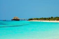 Praia em Zanzibar fotos de stock