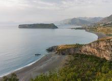 Praia en sto, Calabria, Italien Royaltyfri Bild