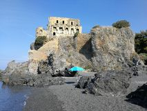 Praia en sto - sätta på land på Torren di Fiuzzi Royaltyfria Bilder
