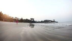 Praia ensolarada tropical filme