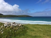 Praia escocesa Imagem de Stock
