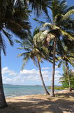 Praia escondida em Austrália Fotografia de Stock Royalty Free