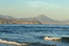 Praia. Espanha Imagens de Stock