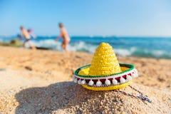 Praia espanhola Fotos de Stock Royalty Free