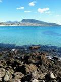 Praia espanhola Imagem de Stock Royalty Free