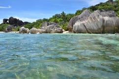 Praia exótica Fotos de Stock
