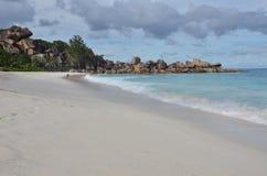 Praia exótica Fotografia de Stock