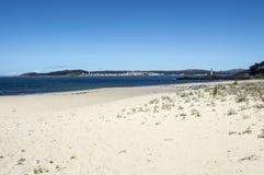A praia faz o lago Fotos de Stock
