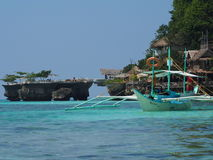 Praia Filipinas de Boracay Fotografia de Stock Royalty Free